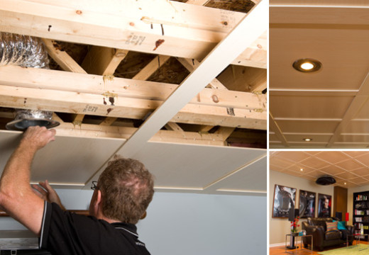 Poser un plafond suspendu, mode d'emploi