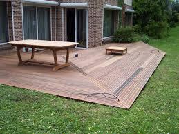 La beauté du PVC dans votre terrasse