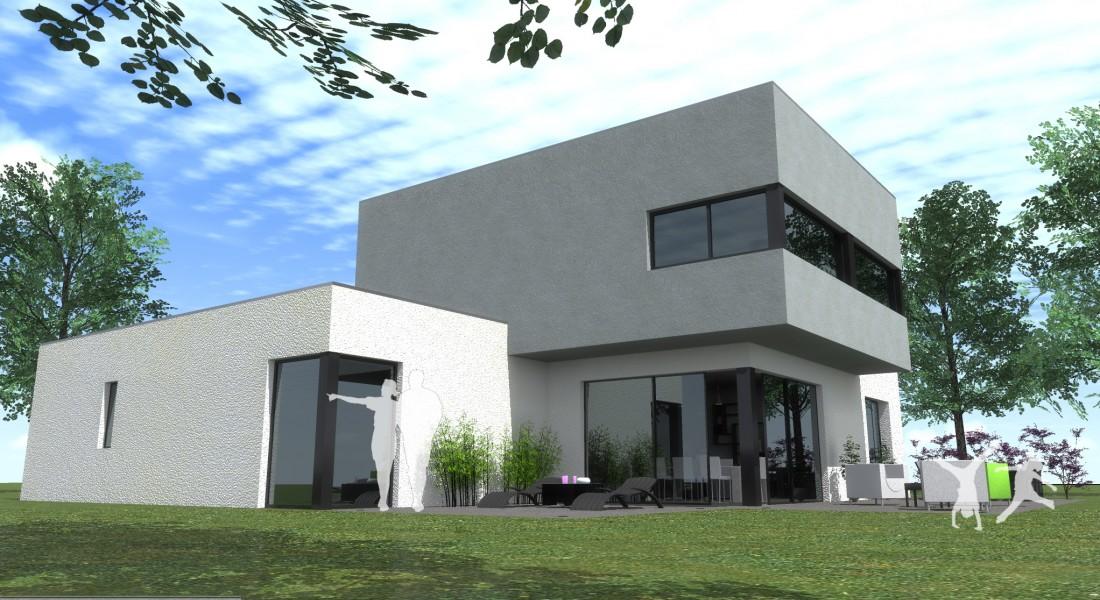 Quel type de maison contemporaine choisir for Type de toiture maison