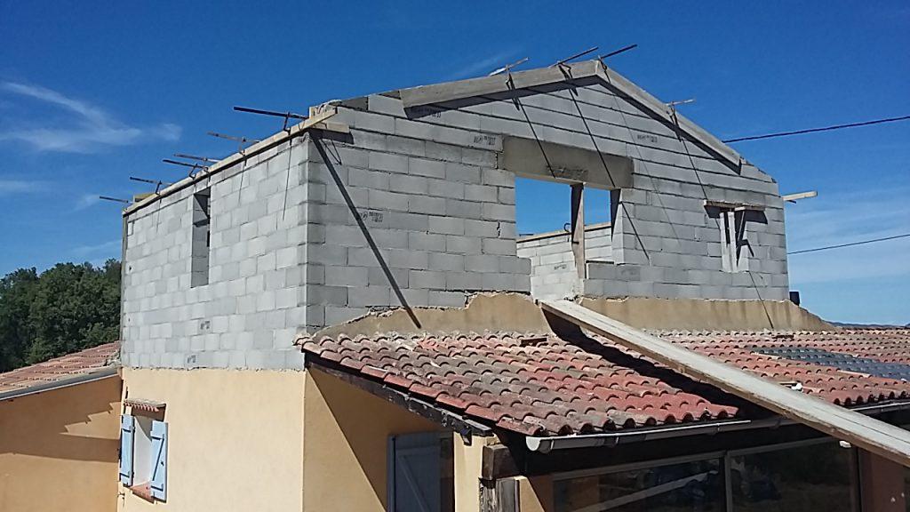 travaux-surélévation-maison