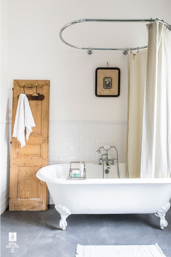 baignoire-ilot-chic-vintage-retro-salle-de-bain
