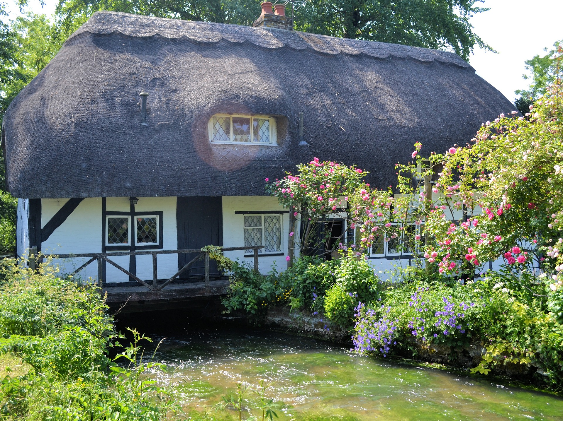 Un cottage anglais typique