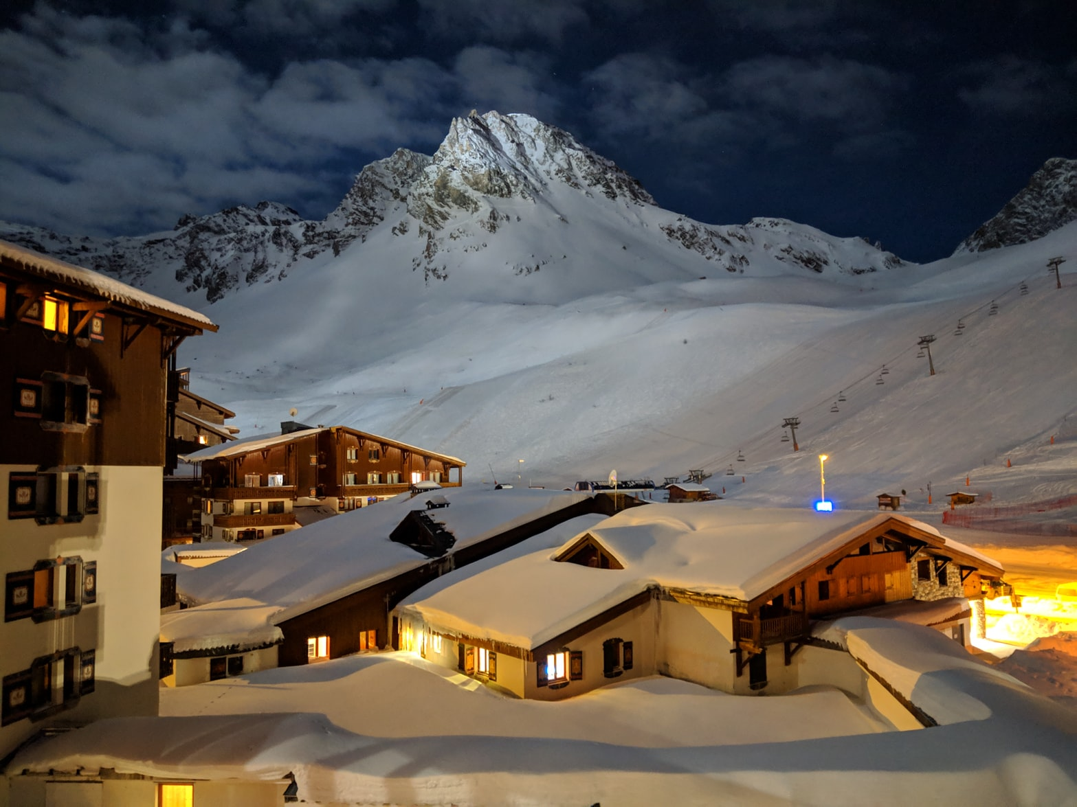 Chalet de luxe à la montagne à Tignes
