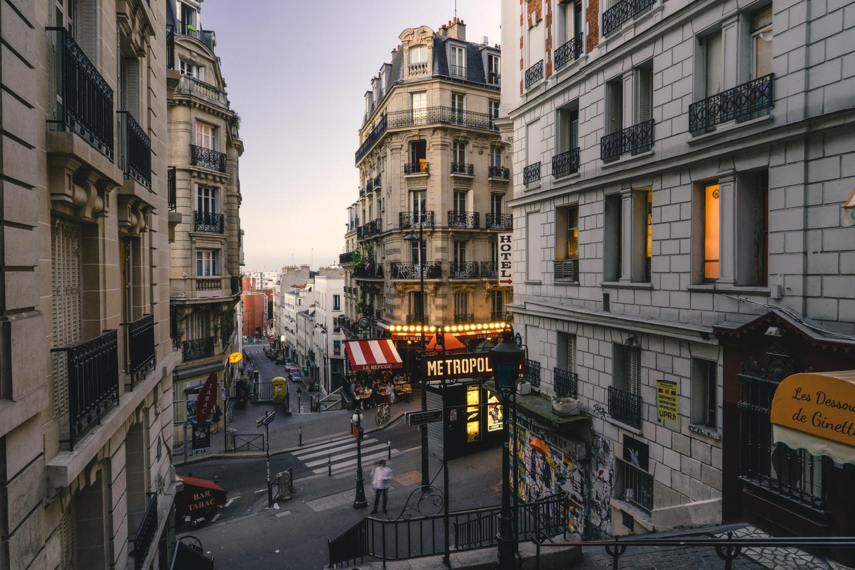 Immeuble de prestige avec hôtel particulier à Paris