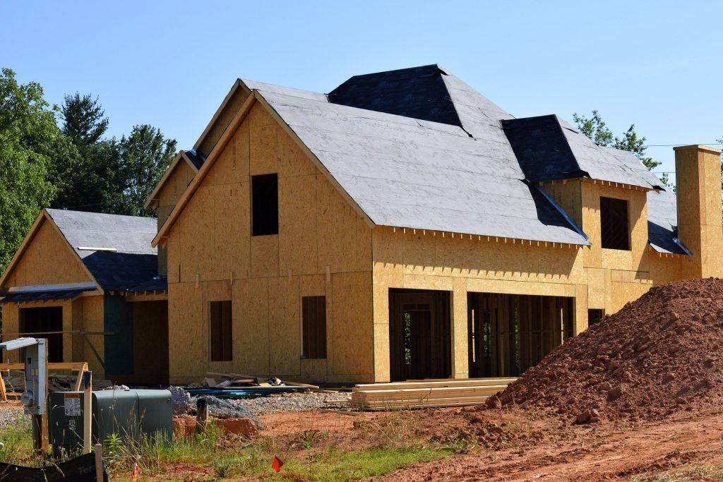 Maisons en cours de construction