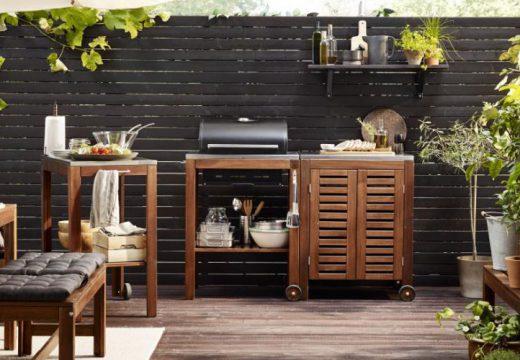 Créer une cuisine d'extérieur chez soi