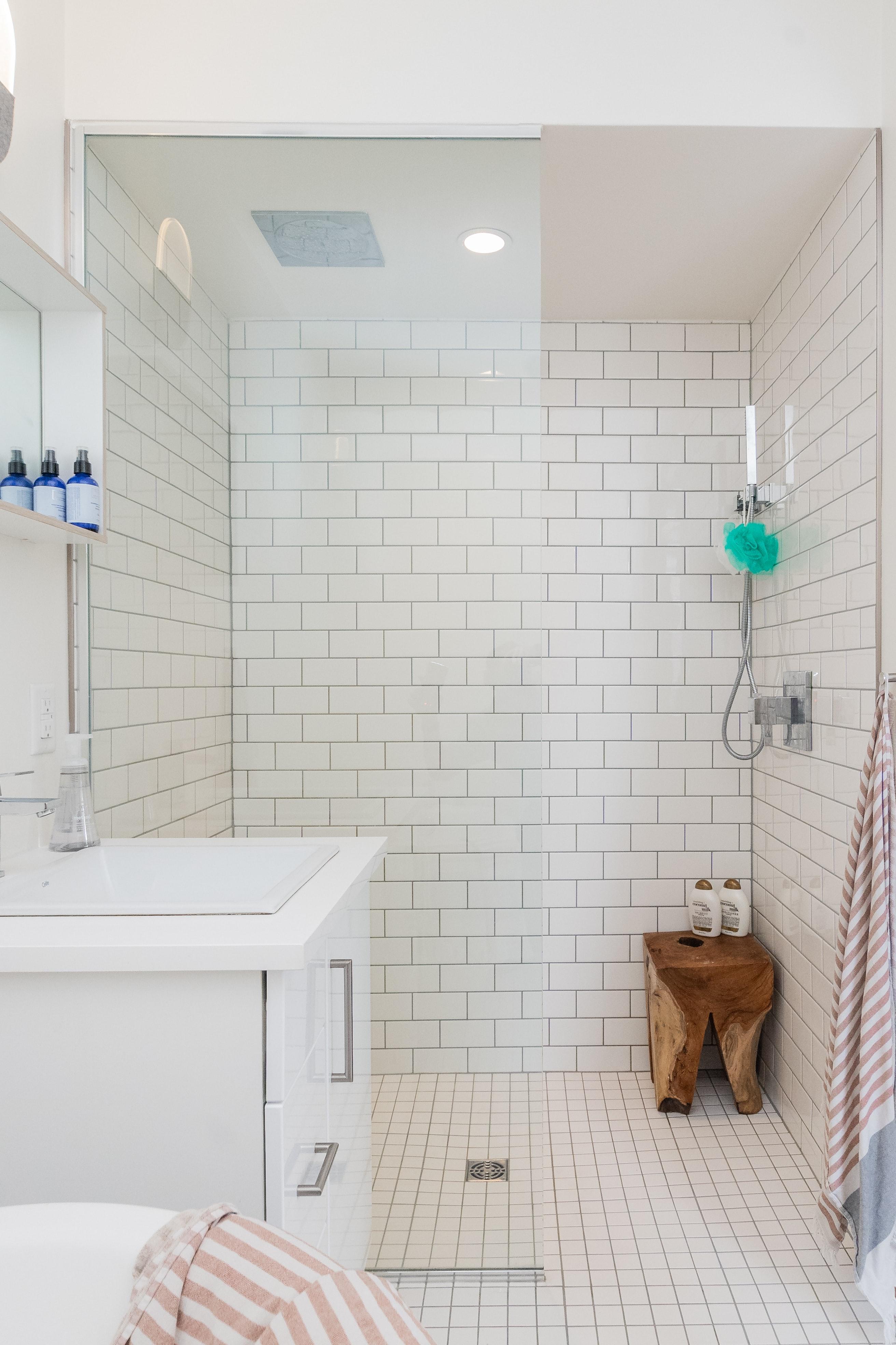 Salle de bain adaptée aux seniors