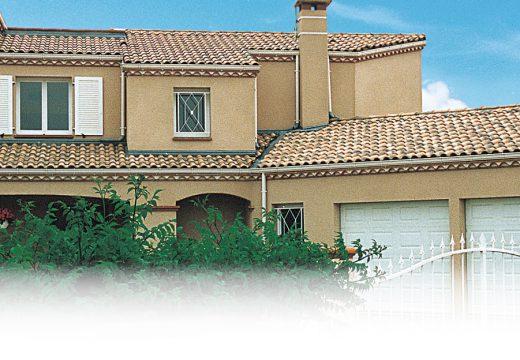 Zoom sur la tuile Romane, la tuile des maisons du Sud