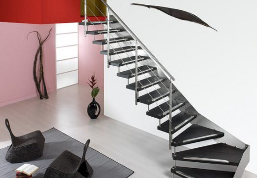Escalier intérieur : comment gagner de la place ?