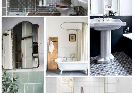 Déco : 5 astuces pour créer une salle de bain vintage